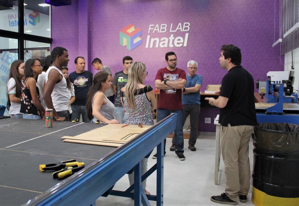 Inatel Fab Lab Atividade maker fetin 1
